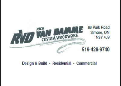 Rick VanDamme Custom Woodwork
