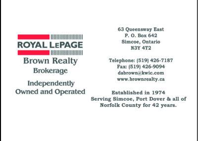 Royal LePage Brown Realty