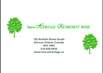 Simcoe Heritage Retirement Home